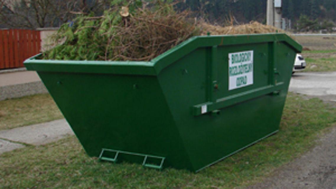 Zber zeleného odpadu
