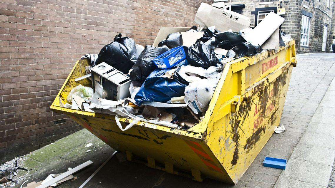 Zber veľkoobjemného odpadu